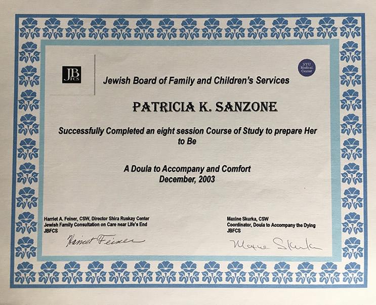 Patricia Sanzone Doula