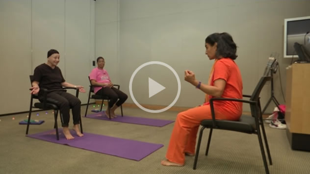 Patricia Sanzone Yoga for Breast Cancer